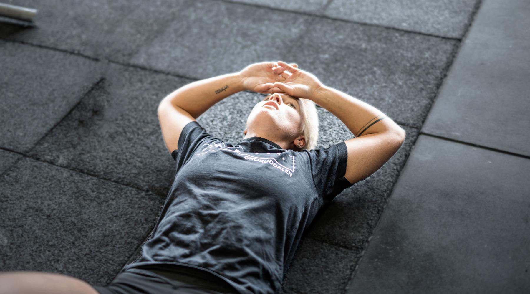 Ligger sliten på gulvet. Foto © Copyright CFGD AS.